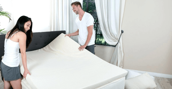 Best Futon 2020 Using A Latex Mattress Topper and A Futon Cover 2020 2021 Top Pick's